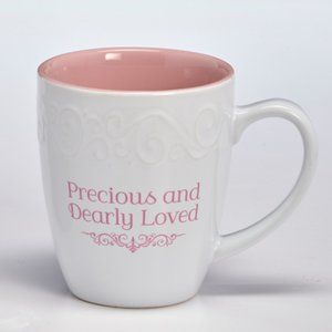 NWT Precious and Dearly Loved Coffee Mug